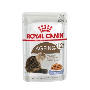 Влажный корм ROYAL CANIN AGEING +12 in JELLY, кусочки в желе (0,085 кг)