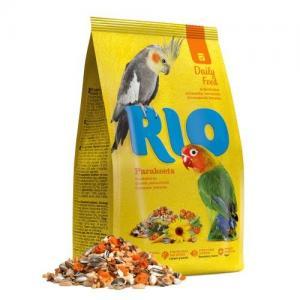 Корм RIO для средних попугаев (0,5 кг)