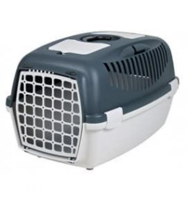 """Переноска """"TRIXIE"""" Traveller Capri III для мелких животных до 12 кг (темно-серая, светло-серая)"""