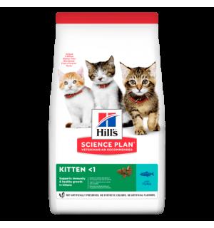 Сухой корм Hill's Science Plan для котят, с тунцом (1.5 кг)
