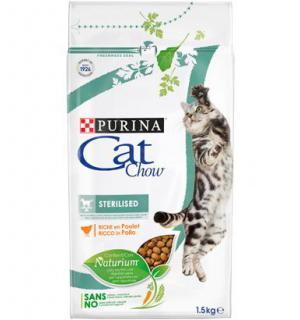Сухой корм Cat Chow Cat Chow для взрослых стерилизованных кошек и кастрированных котов (1,5 кг)