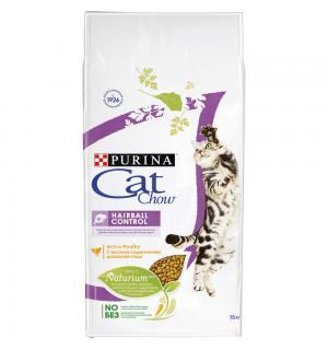 Сухой корм Cat Chow Cat Chow для взрослых кошек, для контроля образования комков шерсти (15 кг)