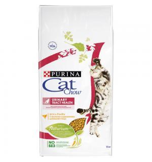 Сухой корм Cat Chow Cat Chow для взрослых кошек, для здоровья мочевыводящих путей (15 кг)