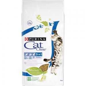 Сухой корм Cat Chow Cat Chow для взрослых кошек 3 в 1 (15 кг)