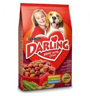 Сухой корм Darling для взрослых собак, с мясом и овощами (3 кг)