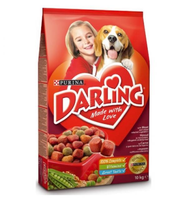 Сухой корм Darling для взрослых собак, с мясом и овощами (2,5 кг)