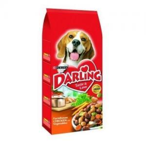 Сухой корм Darling для взрослых собак, с курицей и овощами (2,5 кг)