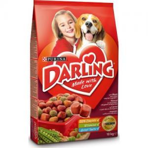 Сухой корм Darling для взрослых собак, с мясом и добавлением овощей (10 кг)