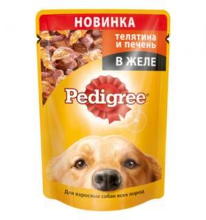 Влажный корм Pedigree для взрослых собак всех пород