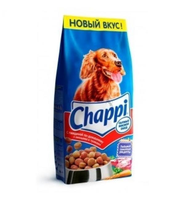 Сухой корм Chappi для взрослых собак всех пород (говядина по-домашнему) 15 кг