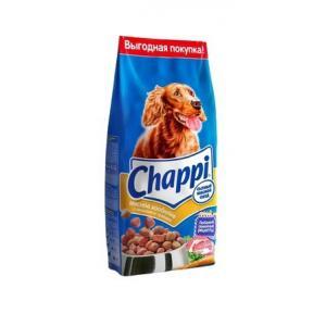 Сухой корм Chappi для взрослых собак всех пород,