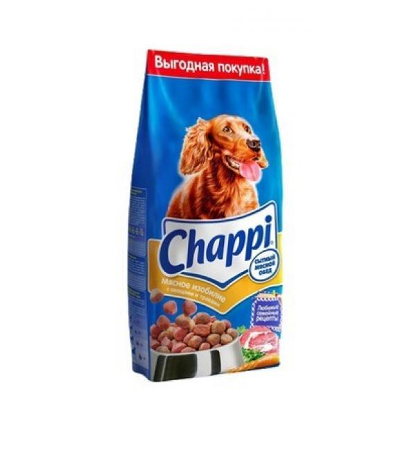 Сухой корм Chappi для взрослых собак всех пород (мясное изобилие, 15 кг)