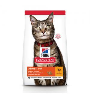 Сухой корм Hill's Science Plan для взрослых кошек, курица (0,4 кг)