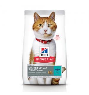 Сухой корм Hill's Science Plan для стерилилизованных кошек, с тунцом (0,3 кг)