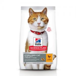 Сухой корм Hill's Science Plan для стерилизованных кошек, с курицей (1,5 кг)
