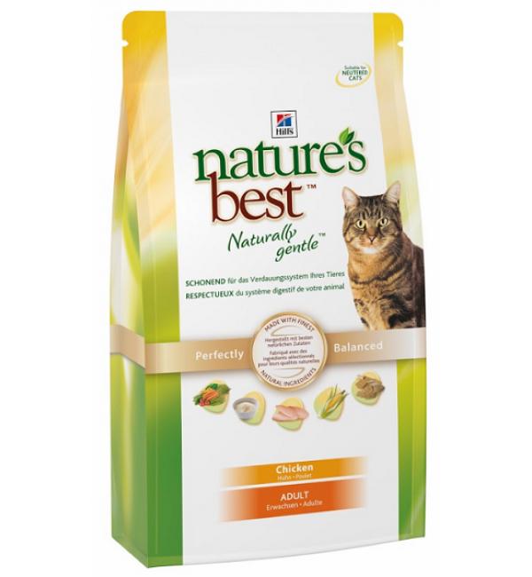 Сухой корм Hill's Nature's Best для кошек с курицей и овощами (2 кг)