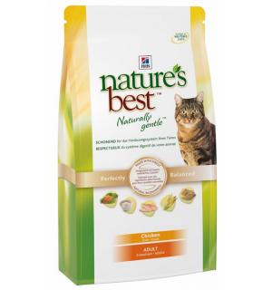 Сухой корм Hill's Nature's Best для кошек с курицей и овощами (0,3 кг)