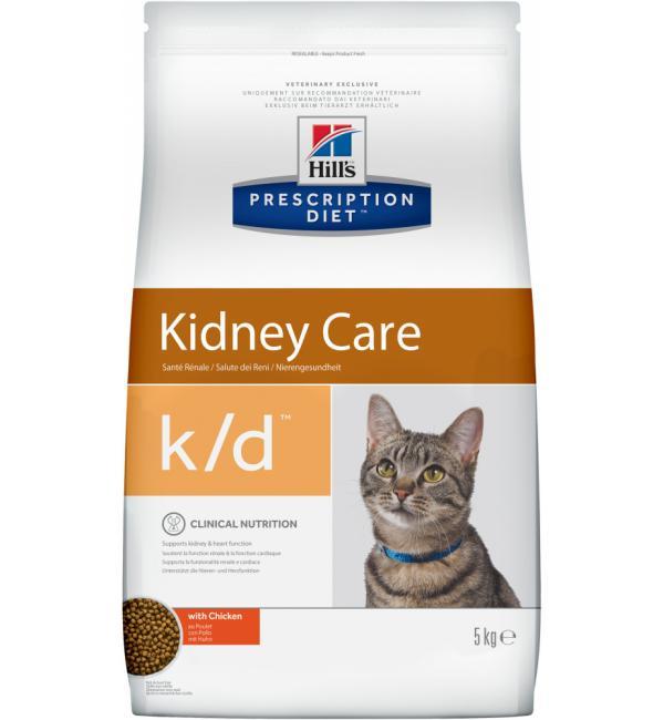 Сухой корм Hill's Prescription Diet k/d для почек и сердца, тунец (0,4 кг)