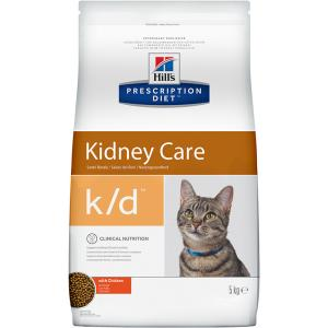 Сухой корм Hill's Prescription Diet для взрослых кошек k/d  (5 кг)