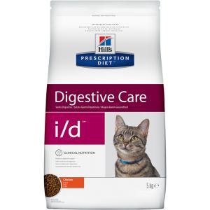 Сухой корм Hill's Prescription Diet для кошек i/d с расстройствами пищеварения (0,4 кг)