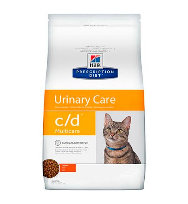 Сухой корм Hill's Prescription Diet для взрослых кошек c/d, с курицей (1,5 кг)