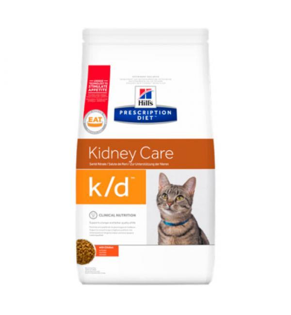 Сухой корм Hill's Prescription Diet для взрослых кошек, k/d (1,5 кг)