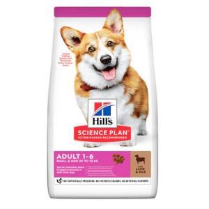 Сухой корм Hill's Science Plan для взрослых собак мелких пород, ягненок (1,5 кг)