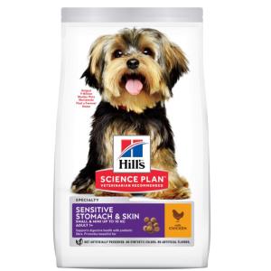 Сухой корм Hill's Science Plan для взрослых собак мелких пород Деликат (1,5 кг)