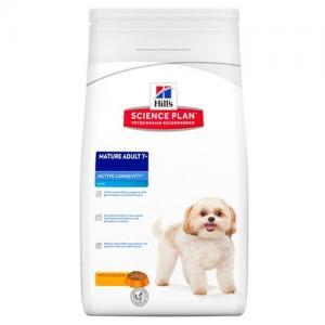 Сухой корм Hill's Science Plan для собак мелких пород старше 7 лет, с курицей (3 кг)