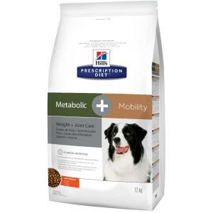 Сухой корм Hill's Prescription Diet для собак Метаболик + Мобилити (12 кг)