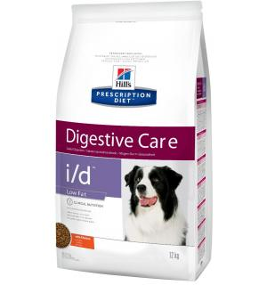 Сухой корм Hill's Prescription Diet для собак Low Fat при расстройстве ЖКТ (12 кг)