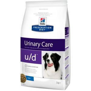 Сухой корм Hill's Prescription Diet для собак u/d при почечной недостаточности (5 кг)
