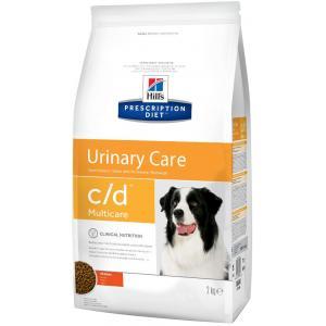 Сухой корм Hill's Prescription Diet для взрослых собак c/d (12 кг)