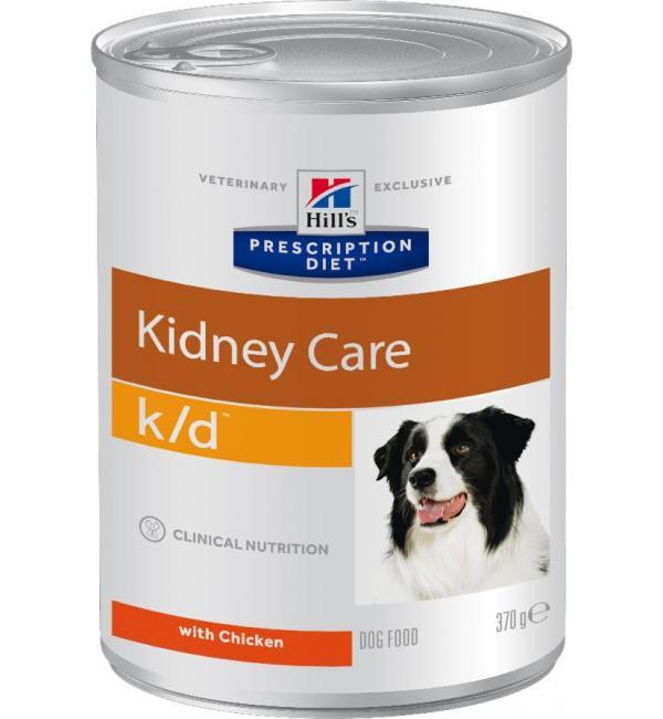 Консервы Hill's Prescription Diet для собак k/d (0,37 кг)