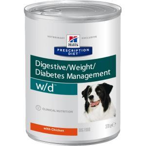 Консервы Hill's Prescription Diet для собак w/d при избыточном весе (0,37 кг)