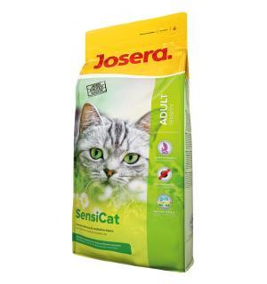 Сухой корм Josera Sensicat (Adult Sensitive 33/18) для взрослых кошек с чувствительным пищеварением (10 кг)