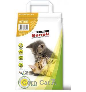 Наполнитель Super Benek Corn Cat кукурузный комкующийся (25 л)