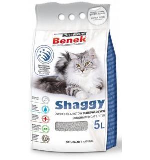 Наполнитель Super Benek Shaggy для длинношерстных кошек (5 л)