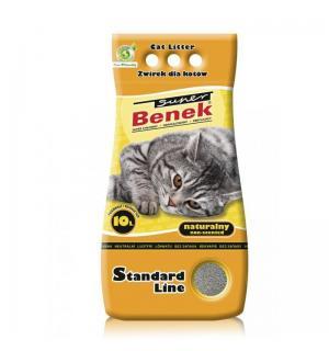 Наполнитель Super Benek комкующийся натуральный (5 л)