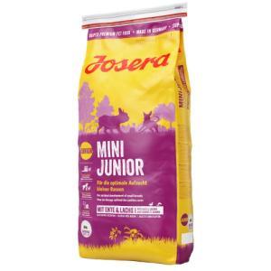 Сухой корм Josera MiniJunior (Junior/Adult Mini 29/18) для щенков и взрослых собак мелких пород (15 кг)