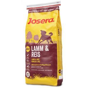 Сухой корм Josera (Adult 20/11) (Ягнёнок с Рисом), для взрослых собак всех пород склонных к пищевой аллергии (15 кг)