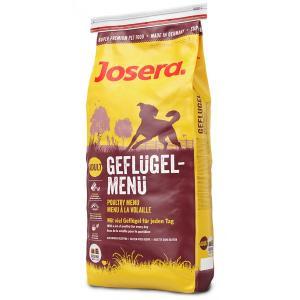 Сухой корм Josera Poultry Menu (Adult Medium/Maxi 25/13) GEFLUGEL-MENU для взрослых собак активных пород (15 кг)