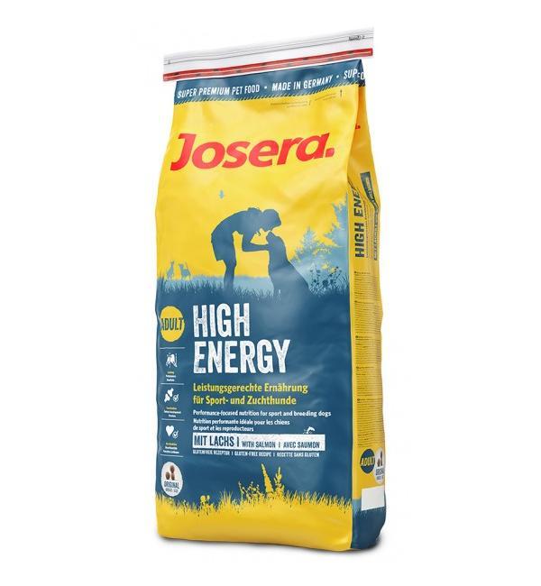 Сухой корм Josera High Energy (Adult/Sport Medium/Maxi 30/21) для взрослых спортивных, племенных и рабочих собак (15 кг)