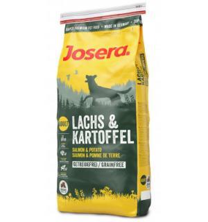 Сухой корм Josera  (Adult Medium/Maxi 22/14) (Лосось и Картофель) LACHS, беззерновой для взрослых собак всех пород с пищевой аллергией на злаки (15 кг)