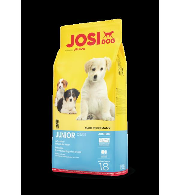 Сухой корм Josera JosiDog Junior (Junior 25/13) для щенков и молодых собак всех пород (18 кг)