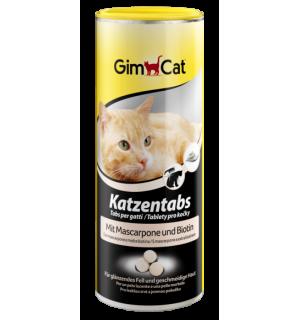 Витамины GIMCAT для кошек, САТ ТАВS с сыром Маскарпоне и биотином (0,45 кг)