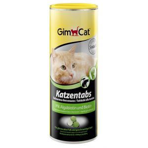 Витамины GIMCAT для кошек, CAT TABS ALGOBIOTINE с морскими водорослями и биотином (0,45 кг)