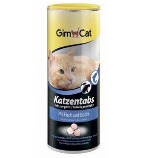 Витамины GIMCAT для кошек,  CAT TABS с рыбой (0,45 кг)