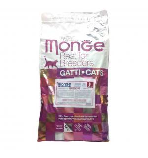 Сухой корм Monge Cat Sensitive для кошек с чувствительным пищеварением (10 кг)