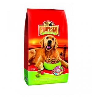 Сухой корм Propesko for Dog для собак, ягнёнок+рис+овощи (10 кг)